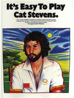 It's Easy To Play Cat Stevens Livre | Piano, Chant et Guitare (Symboles d'Accords)