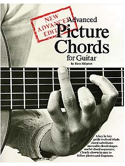 Advanced Picture Chords For Guitar Books | Guitar, with guitar chord boxes