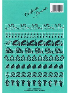 The Mamas And Papas: California Dreamin' (SATB) Books | SATB, Piano Accompaniment