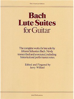 J.S. Bach: Lute Suites For Guitar Books | Guitar
