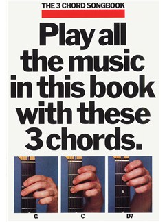 The 3 Chord Songbook Book 1 Books | Lyrics & Chords, with guitar chord boxes