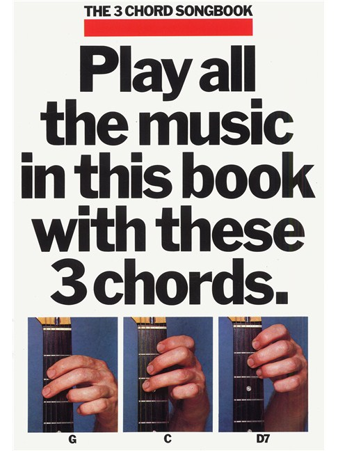 The 3 Chord Songbook Book 1 - Lyrics & Chords Sheet Music - Tuition ...