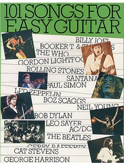 101 Songs For Easy Guitar Book 4 Books | Guitar with Melody Line, Lyrics & Chords