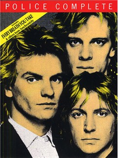 The Police Complete (Updated) Books   Piano and Voice, with Guitar chord boxes