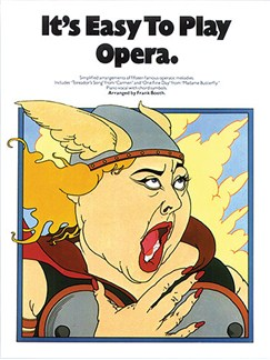 It's Easy To Play Opera Books | Piano and Voice, with Guitar chord symbols