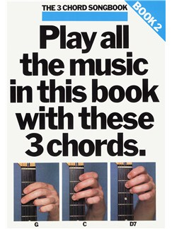 The 3 Chord Songbook Book 2 Books | Lyrics & Chords, with guitar chord boxes