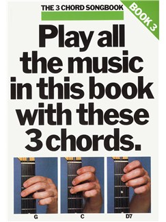 The 3 Chord Songbook Book 3 Books | Lyrics & Chords, with guitar chord boxes