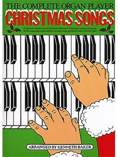 The Complete Organ Player Christmas Songs Books | Organ