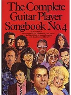 The Complete Guitar Player: Songbook No.4 Livre   Ligne De Mélodie, Paroles et Accords (Boîtes d'Accord)