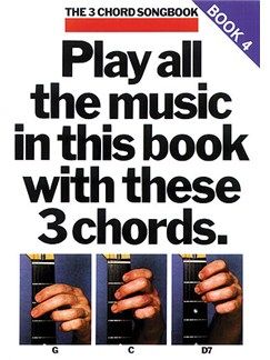 The 3 Chord Songbook Book 4 Books | Lyrics & Chords, with guitar chord boxes