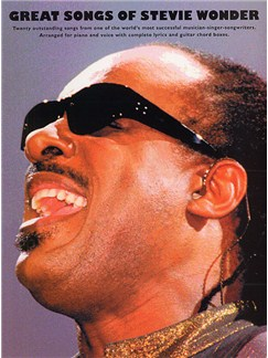 The Great Songs Of Stevie Wonder Books | Piano and Voice, with Guitar chord boxes