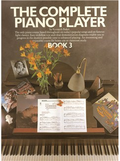 The Complete Piano Player: Book 3 Books | Piano & Guitar, with chord symbols