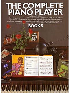 The Complete Piano Player: Book 5 Books | Piano & Guitar, with chord symbols