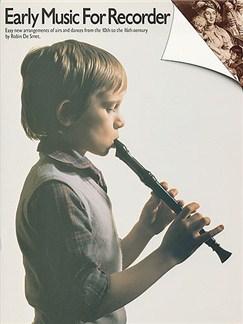 Early Music For Recorder Livre | Flûte à Bec (Symboles d'Accords)
