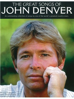 The Great Songs Of John Denver Books | Piano and Voice, with Guitar chord boxes