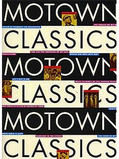 Motown Classics Books | Piano and Voice, with Guitar chord boxes