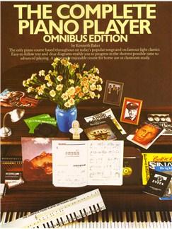 The Complete Piano Player: Omnibus Edition Bog | Klaver, sang og guitar(med becifring)