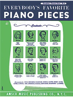 Everybody's Favorite Piano Pieces Books | Piano