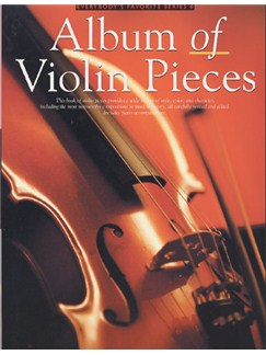 Album Of Violin Pieces Books | Violin and Piano