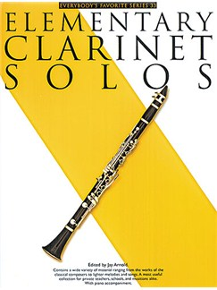 Elementary Clarinet Solos Books | Clarinet, Piano Accompaniment