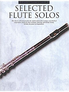 Selected Flute Solos With Piano Accompaniment Books | Flute, Piano