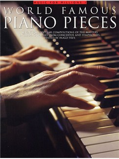 World Famous Piano Pieces Livre | Piano
