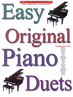 Easy Original Piano Duets Books | Piano Duet