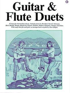 Guitar And Flute Duets Livre | Flûte Traversière, Guitare