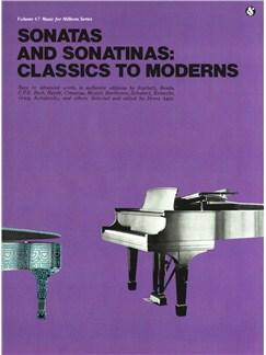 Classics To Moderns: Sonatas And Sonatinas Books | Piano