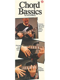 Chord Bassics Books | Bass Guitar, with chord symbols
