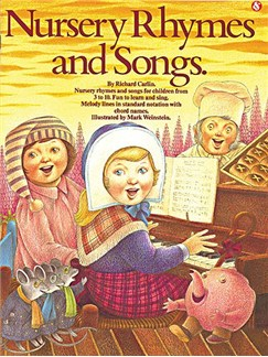 Nursery Rhymes And Songs Books | Piano and Voice, with Guitar chord symbols