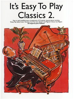 It's Easy To Play Classics 2 Books | Piano & Guitar, with chord symbols