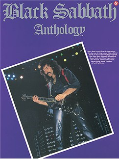 Black Sabbath Anthology Books | Guitar Tab, with chord symbols