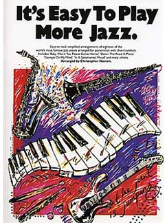 It's Easy To Play Jazz 2 Books | Piano and Voice, with Guitar chord symbols