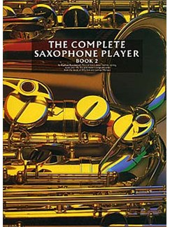 The Complete Saxophone Player Book 2 Books | Alto Saxophone