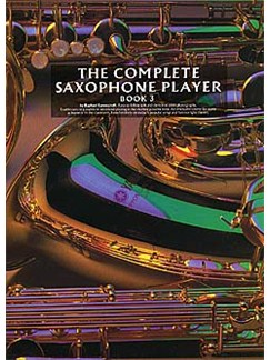 The Complete Saxophone Player Book 3 Books | Alto Saxophone