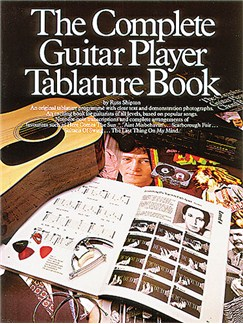 The Complete Guitar Player: Tablature Book Books | Guitar Tab, with chord symbols