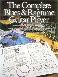 The Complete Blues And Ragtime Guitar Player Books | Guitar Tab, with chord symbols