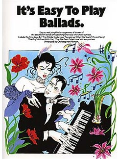 It's Easy To Play Ballads Books | Piano and Voice, with Guitar chord symbols