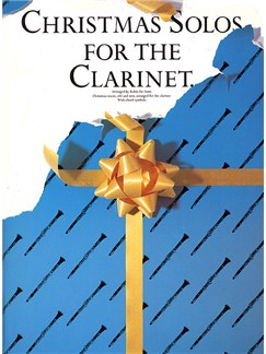 Christmas Solos For The Clarinet Books | Clarinet, with chord symbols