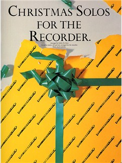 Christmas Solos For The Recorder Books | Soprano (Descant) Recorder
