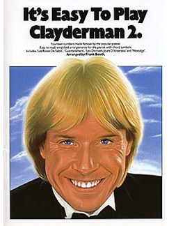 It's Easy To Play Richard Clayderman Book 2 Books | Piano & Guitar, with chord symbols