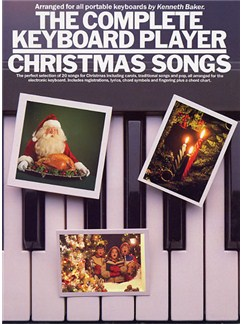 The Complete Keyboard Player: Christmas Songs Books | Melody line & lyrics, with chord symbols