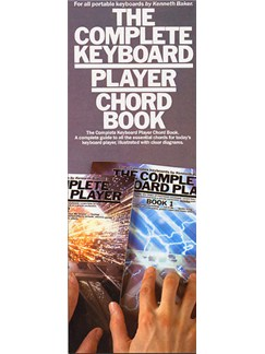 The Complete Keyboard Player: Chord Book Books | Keyboard
