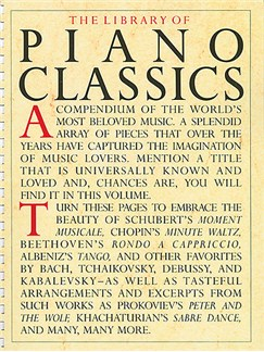 The Library Of Piano Classics Livre | Piano