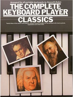 The Complete Keyboard Player: Classics Livre | Clavier (Symboles d'Accords)