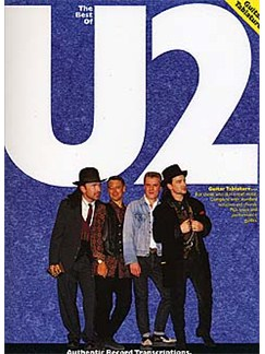 The Best Of U2 Books | Guitar Tab, Bass Guitar Tab, with chord symbols