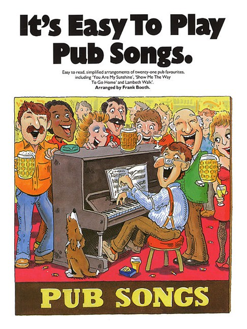 It\'s Easy To Play Pub Songs - Piano, Vocal & Guitar Sheet Music ...