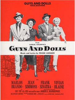 Frank Loesser: Guys And Dolls - Vocal Selections Books | Piano and Voice, with Guitar chord boxes