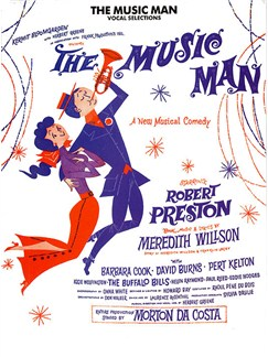 Meredith Willson: The Music Man - Vocal Selections Libro | Piano, Voz y Guitarra(Diagramas)